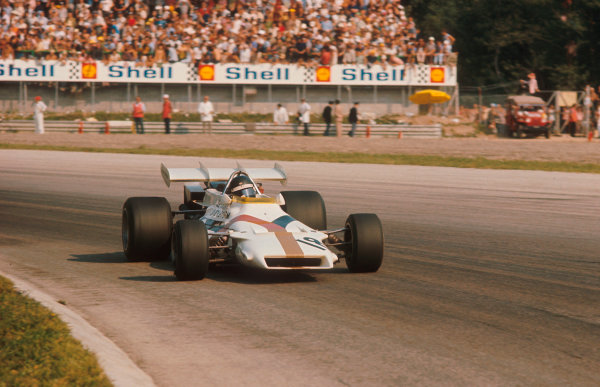 1971 Italian Grand Prix.Monza, Italy.3-5 September 1971.Peter Gethin (BRM P160) 1st position.Ref-71 ITA 27.World Copyright - LAT Photographic