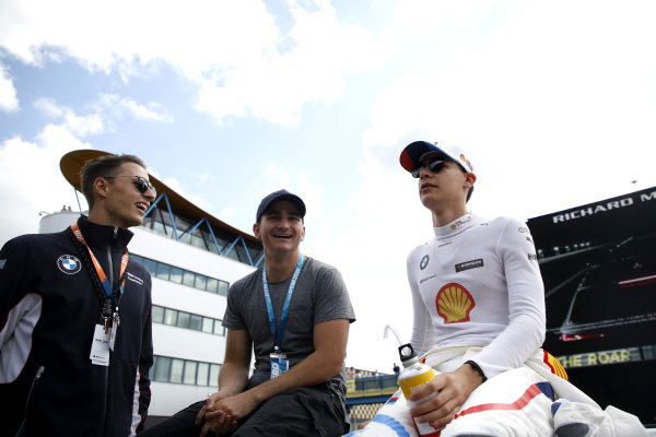Sheldon van der Linde, BMW Team RBM with Jordan Lee Pepper.