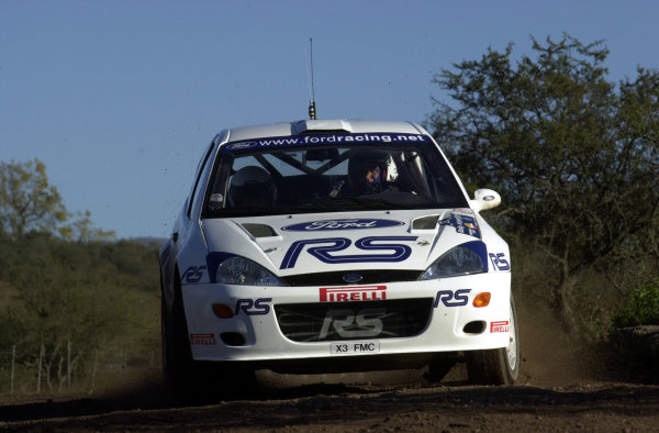 2001 World Rally Championship. ArgentinaMay 3rd-6th, 2001Francois Delecour during shakedown.Photo: Ralph Hardwick/LAT