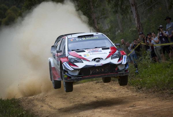 Ott Tänak, Toyota Gazoo Racing, Toyota Yaris WRC 2018