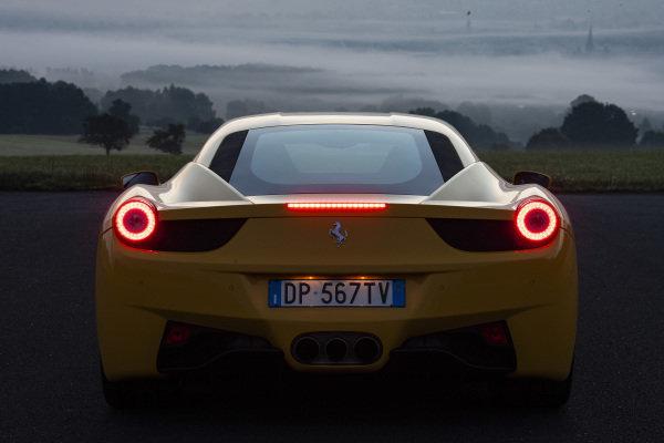 Ferrari 458 Italia, 2012