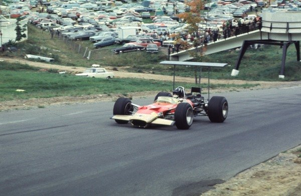 1968 Canadian Grand Prix.Mont-Tremblant, (St. Jovite), Quebec, Canada.20-22 September 1968.Graham Hill (Lotus 49B Ford) 4th position.Ref-68 CAN 11.World Copyright - LAT Photographic