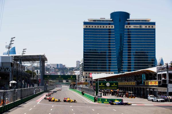 2017 FIA Formula 2 Round 4. Baku City Circuit, Baku, Azerbaijan. Saturday 24 June 2017. Oliver Rowland (GBR, DAMS)  Photo: Zak Mauger/FIA Formula 2. ref: Digital Image _56I7567