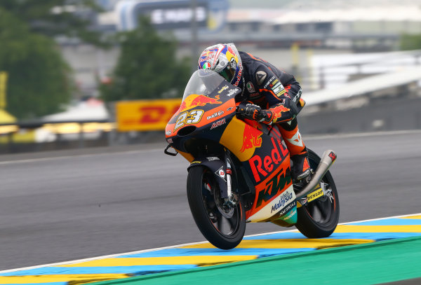 2017 Moto3 Championship - Round 5 Le Mans, France Friday 19 May 2017 Niccolo Antonelli, Red Bull KTM Ajo World Copyright: Gold & Goose Photography/LAT Images ref: Digital Image 670481