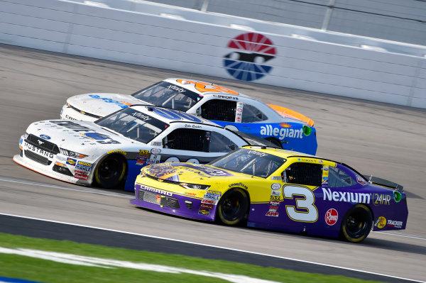 2017 NASCAR Xfinity Series - Boyd Gaming 300 Las Vegas Motor Speedway - Las Vegas, NV USA Saturday 11 March 2017 Ty Dillon, Cole Custer and Spencer Gallagher World Copyright: Nigel Kinrade/LAT Images ref: Digital Image 17LAS1nk06010