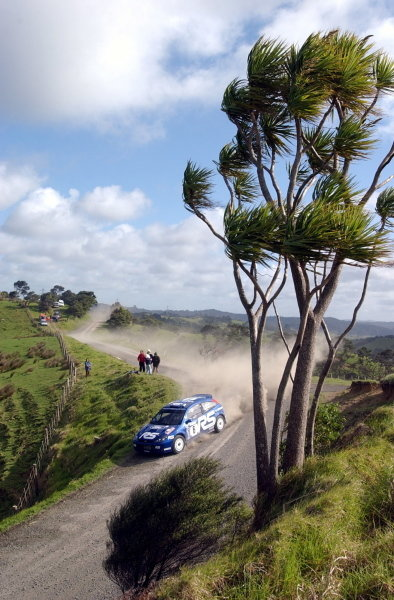 Markko Martin (EST) / Michael Park (GBR) Ford Focus RS WRC 02.