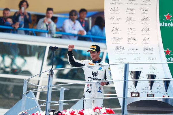 Autodromo Nazionale di Monza, Italy. Sunday 3 September 2017 Sergio Sette Camara (BRA, MP Motorsport).  Photo: Mauger/FIA Formula 2 ref: Digital Image _W6I4920