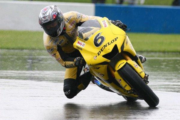 2007 Moto GP British Grand Prix.Donington Park, England.22nd-24th June 2007.Makoto Tamada (Dunlop Yamaha Tech 3, Yamaha YZR-M1) action.World Copyright: Kevin Wood/LAT Photographicref: Digital Image IMG_4484