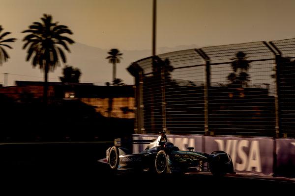 2016/2017 FIA Formula E Championship. Marrakesh ePrix, Circuit International Automobile Moulay El Hassan, Marrakesh, Morocco. Saturday 12 November 2016. Adam Carroll (GBR), Jaguar Racing, Spark-Jaguar, Jaguar I-Type 1.  Photo: Zak Mauger/LAT/Formula E ref: Digital Image _X0W5448