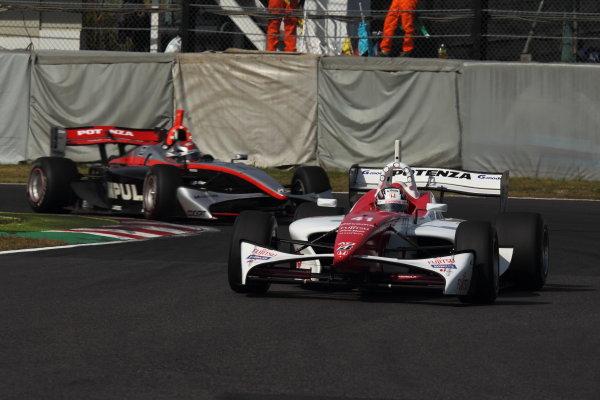 Suzuka Circuit, Japan. Rd 7 - 3rd - 4th November 2012. Race1 3rd position Koudai Tsukakoshi ( #41 DOCOMO TEAM DANDELION RACING ) action World Copyright: Yasushi Ishihara/LAT Photographic ref: Digital Image 2012FN_Rd7_010