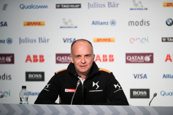 Xavier Mestelan Pinon, DS Performance Director, in the Friday Press Conference.