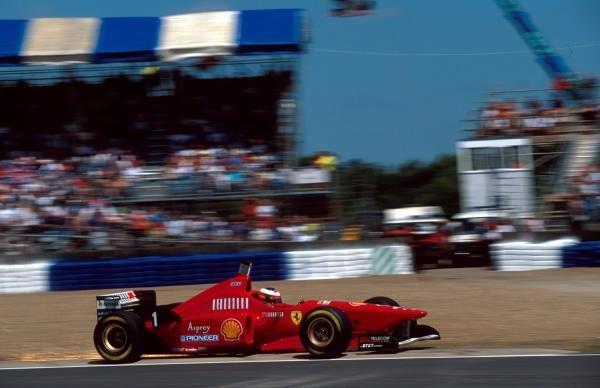 Michael Schumacher(GER) Ferrari F310 British Grand Prix, Silverstone, 14th July 1996