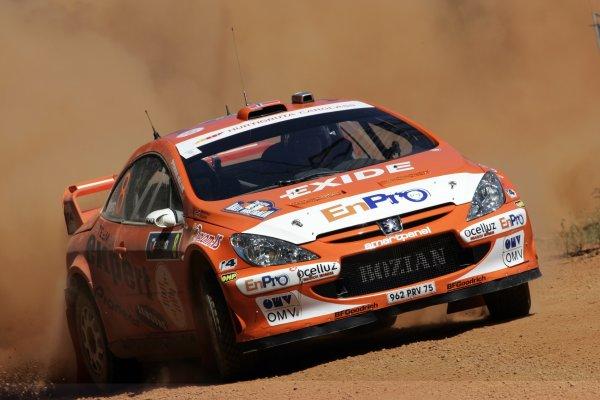 2006 FIA World Rally Champs. Round 6Rally Australia 26-29 October 2006Henning Solberg,  Peugoet, actionWorld Copyright: McKlein/LAT