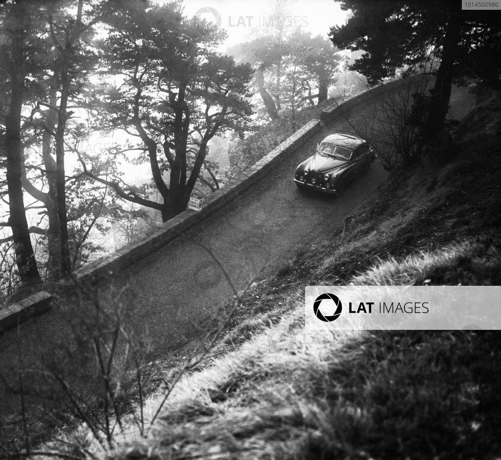 1956 Monte Carlo Rally.