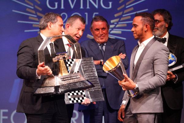 2015 FIA Prize Giving Paris, France Friday 4th December 2015 Lewis Hamilton, portrait  Photo: Copyright Free FOR EDITORIAL USE ONLY. Mandatory Credit: FIA / Jean Michel Le Meur  / DPPI ref: _GO_0160