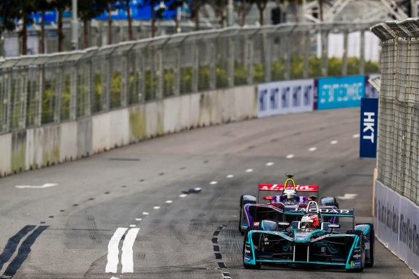 2017/2018 FIA Formula E Championship. Round 1 - Hong Kong, China. Saturday 02 December 2017. Mitch Evans (NZL), Panasonic Jaguar Racing, Jaguar I-Type II. Photo: Sam Bloxham/LAT/Formula E ref: Digital Image _J6I4002