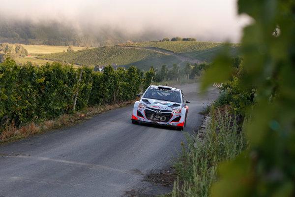 2014 World Rally Championship Rallye Deutschland 21-24 th August 2014 Thierry Neuville, Hyundai WRC Action Worldwide Copyright: McKlein/LAT