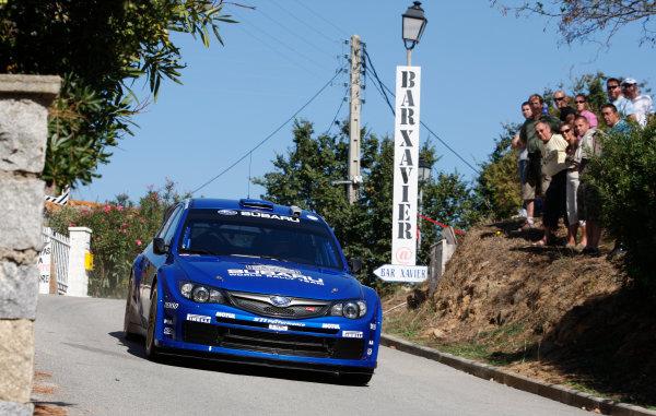 Round 12, Rally of France, Tour de Corse7th - 10th October 2008Chris Atkinson, Subaru, actionWorldwide Copyright: McKlein/LAT