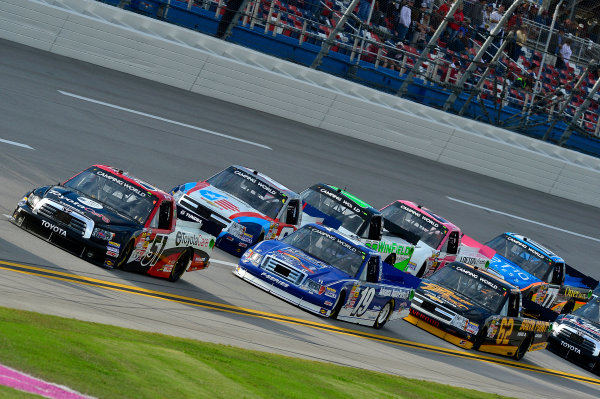 October 18-19, 2013, Talladega, Alabama USA Kyle Busch pack © 2013, Brian Czobat LAT Photo USA
