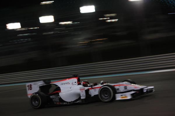 2013 GP2 Series Test 3 Yas Marina Circuit, Abu Dhabi, UAE. Day 3, Thursday 7th November 2013. Johnny Cecotto (VEN, Rapax)  World Copyright: Sam Bloxham/LAT Photographic. ref: Digital Image IMG_5972