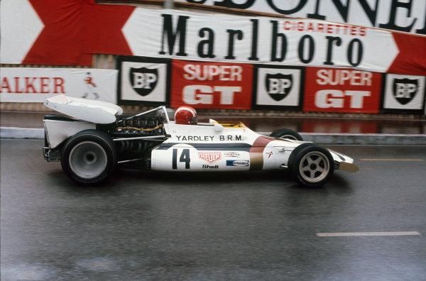 Monaco Grand Prix.  Monte Carlo, Monaco. 20-23rd May 1971.  Jo Siffert, BRM P160.  Ref: 71MON08. World Copyright: LAT Photographic
