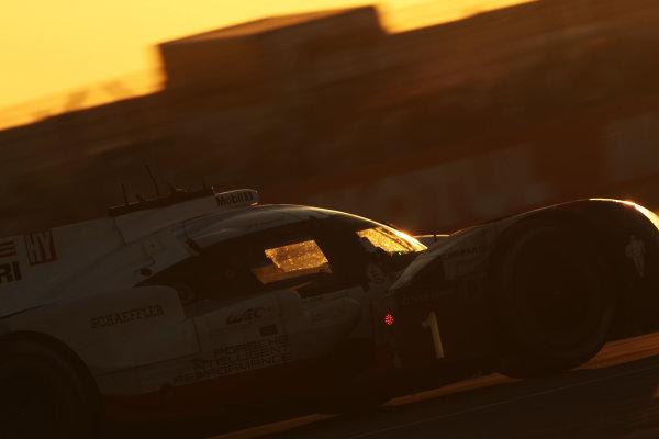 2017 Le Mans 24 Hours Circuit de la Sarthe, Le Mans, France. Thursday 15 June 2017 #1 Porsche LMP Team Porsche 919 Hybrid: Neel Jani, Andre Lotterer, Nick Tandy  World Copyright: JEP/LAT Images