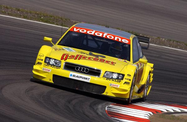 2004 DTM ChampionshipNurburgring, Germany. 30th July - 1st August.Tom Kristensen (Abt Sportsline Audi A4). Action.World Copyright: Andre Irlmeier/LAT Photographicref: Digital Image Only