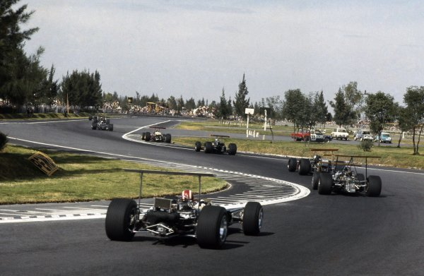 1968 Mexican Grand Prix.
