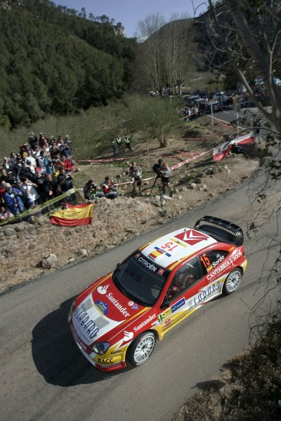 2006 FIA World Rally Champs. Round four Rally Catalunya Spain. 24-26th March 2006Daniel Sordo, Citroen, action.World Copywright: Mcklein/LAT