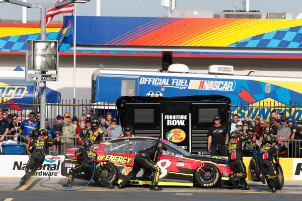 Monster Energy NASCAR Cup Series Monster Energy NASCAR All-Star Race Charlotte Motor Speedway, Concord, NC USA Friday 19 May 2017 Martin Truex Jr, Furniture Row Racing, 5-hour Energy Extra Strength Toyota Camry World Copyright: Matthew T. Thacker LAT Images ref: Digital Image 17CLT1mt1364