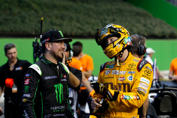 2017 Race of Champions Miami, Florida, USA Sunday 22 January 2017 Kurt Busch and Kyle Busch World Copyright: Alexander Trienitz/LAT Photographic ref: Digital Image 2017-RoC-MIA-AT2-3100