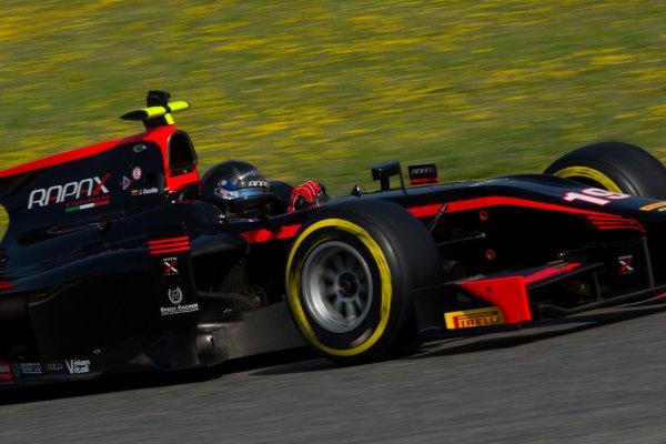 Circuit de Barcelona Catalunya, Barcelona, Spain. Wednesday 15 March 2017. Johnny Cecotto (VEN, Rapax). Action.  Photo: Alastair Staley/FIA Formula 2 ref: Digital Image 585A9528