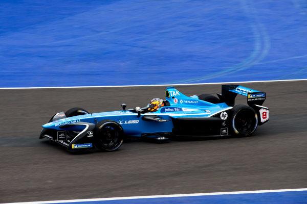 2017/2018 FIA Formula E Championship.Test 02 - Marrkesh Rookie Test.Circuit International Automobile Moulay El Hassan, Marrakesh, Morocco.Sunday 14 January 2018.Mitsunori Takaboshi (JPN), Renault e.Dams, Renault Z.E 17. Photo: Zak Mauger/LAT/Formula Eref: Digital Image _56I7735