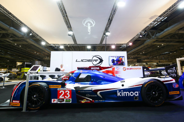 Autosport International Exhibition. National Exhibition Centre, Birmingham, UK. Sunday 14th January, 2018. The Ligier stand.World Copyright: Mike Hoyer/JEP/LAT Images Ref: AQ2Y9468