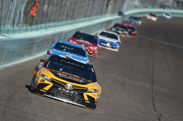 Monster Energy NASCAR Cup Series Homestead-Miami Speedway, Homestead, Florida USA Sunday 19 November 2017 Matt Kenseth, Joe Gibbs Racing, DEWALT Hurricane Recovery Toyota Camry World Copyright: Rainier Ehrhardt / LAT Images ref: Digital Image DSC_1771