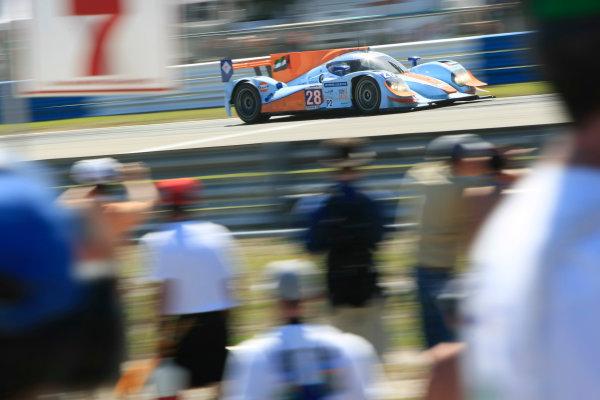 Sebring, Florida, USA. 15th-17th March 2012,Fabien Giroix/Maxime Jousse/Jan Charouz - Gulf Racing Middle East Lola B12/80 NissanWorld Copyright: Ebrey/LAT Photographic.