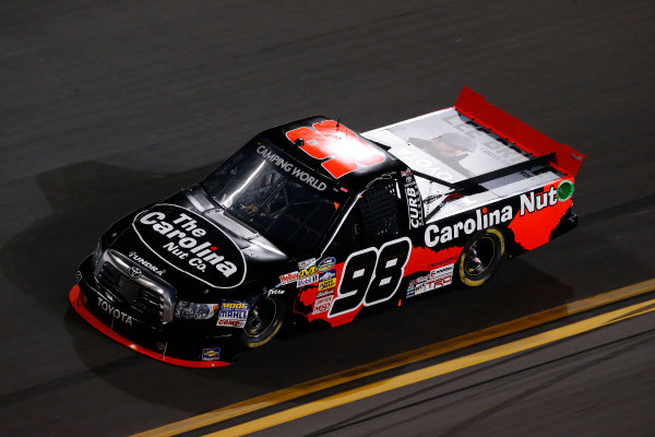 21-23 February, 2013, Daytona Beach, Florida, USA Subject:  Winner Johnny Sauter.(c) 2013, Nigel Kinrade LAT Photo USA