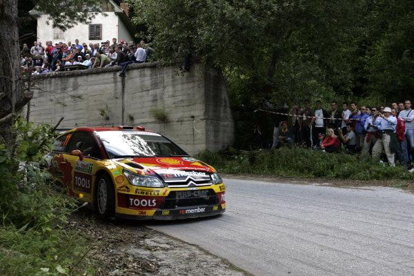 Round 07Rally Bulgaria 8-11 July  2010Petter Solberg, Citroen WRC, ActionWorldwide Copyright: McKlein/LAT