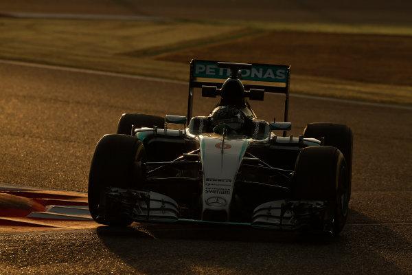 2015 F1 Pre Season Test 3 - Day 4 Circuit de Catalunya, Barcelona, Spain. Thursday  Sunday 1 March 2015. Nico Rosberg, Mercedes F1 W06 Hybrid.  World Copyright: Sam Bloxham/LAT Photographic. ref: Digital Image _14P5480