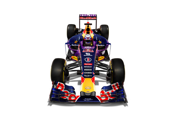 Infiniti Red Bull Racing RB11 Studio Images. Milton Keynes, UK. Sunday 1 March 2015. The Red Bull Racing RB11. Photo: Red Bull Racing (Copyright Free FOR EDITORIAL USE ONLY) ref: Digital Image RB11_LIVERY_08