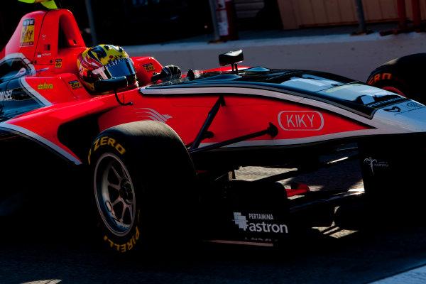 Circuit de Catalunya, Barcelona, Spain. 30th May 2011. Friday First Practice. Rio Haryanto, (INA, Marussia Manor Racing).  Action. Photo: Alastair Staley/GP3 Media Service. ref: Digital Image _O9T6865