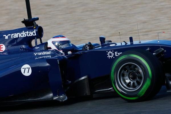 2014 F1 Pre Season Test 1 - Preview Circuito de Jerez, Jerez, Spain. Wednesday 29 January 2014. Valtteri Bottas, Williams FW36 Mercedes. World Copyright: Andrew Ferraro/LAT Photographic. ref: Digital Image _79P1184