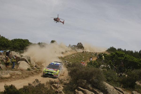 Round 6Rally d'Italia Sardinia 200921st - 24th  May 2009Jari-Matti Latvala, Mikka Anttila, Ford, WRC, ActionWorldwide Copyright: McKlein/LAT