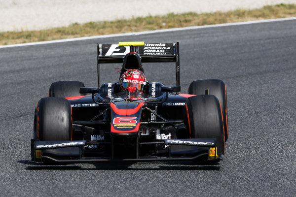 2015 GP2 Series Round 2. Circuit de Catalunya, Barcelona, Spain. Sunday 10 May 2015. Nobuharu Matsushita (JPN, ART Grand Prix). Photo: Zak Mauger/GP2 Series Media Service. ref: Digital Image _L0U5738