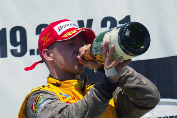 A.J Allmendinger (USA) 3rd.