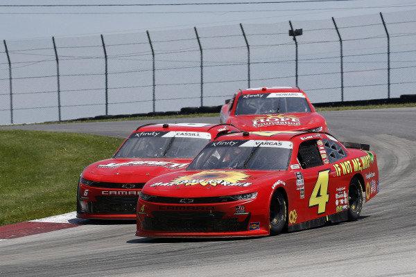#4: Ryan Vargas, JD Motorsports, Chevrolet Camaro Jarrett Logistics