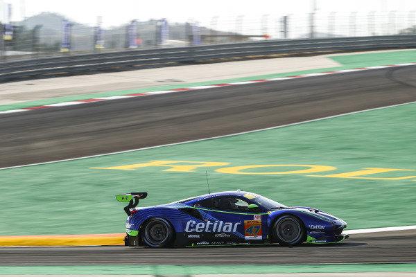 #47 Cetilar Racing Ferrari 488 GTE EVO: Roberto Lacorte, Giorgio Sernagiotto, Antonio Fuoco