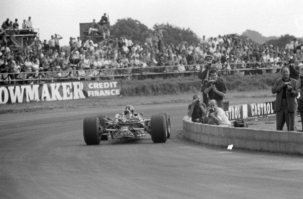 Graham Hill, Lotus 49 Ford.
