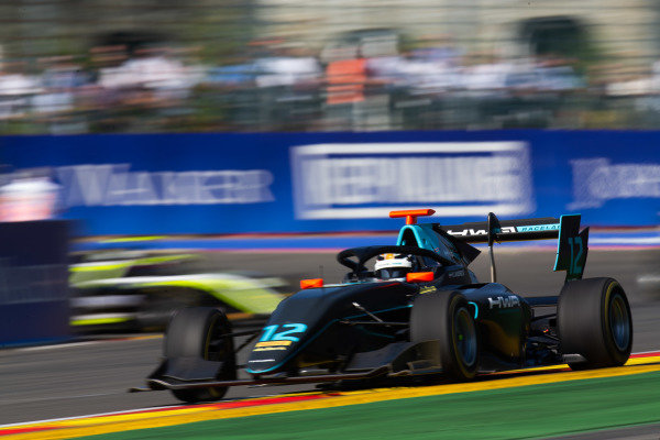 SPA-FRANCORCHAMPS, BELGIUM - AUGUST 31: Keyvan Andres (IRN, HWA RACELAB) during the Spa-Francorchamps at Spa-Francorchamps on August 31, 2019 in Spa-Francorchamps, Belgium. (Photo by Joe Portlock / LAT Images / FIA F3 Championship)