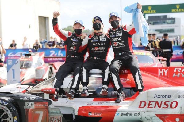 #7 Toyota Gazoo Racing Toyota GR010 - Hybrid Hypercar of Mike Conway, Kamui Kobayashi, Jose Maria Lopez